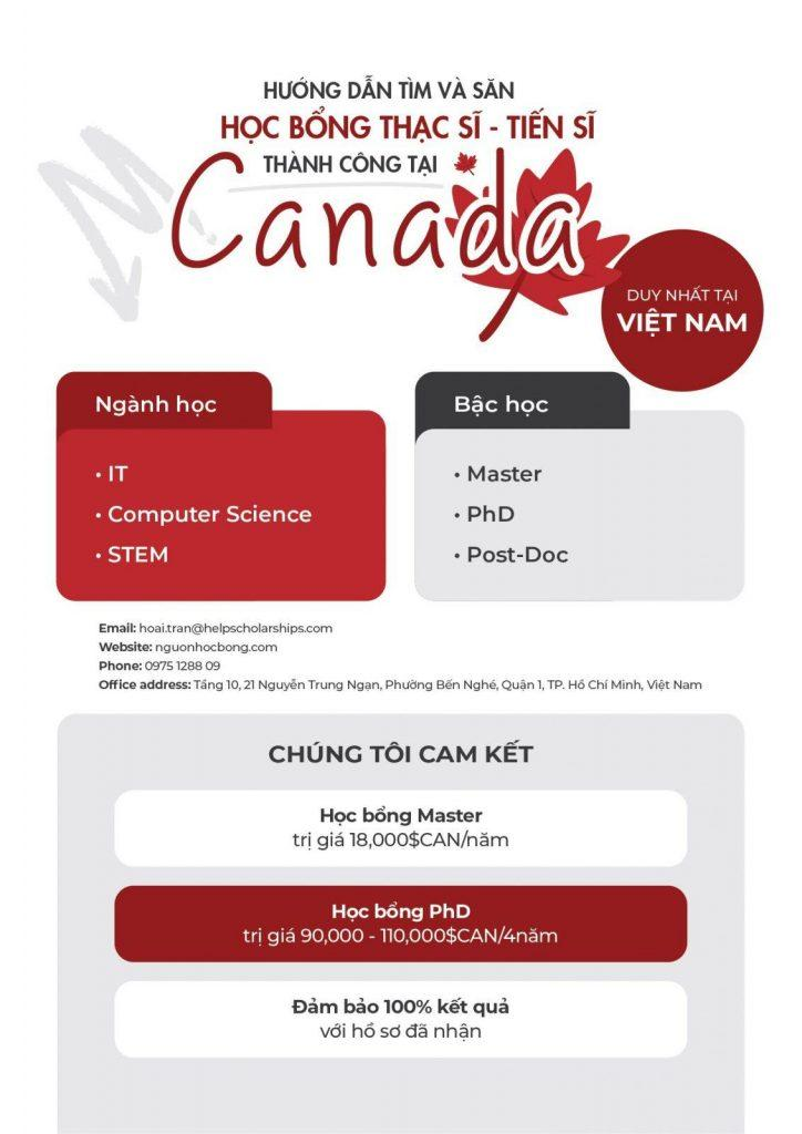 Học bổng Canada 01