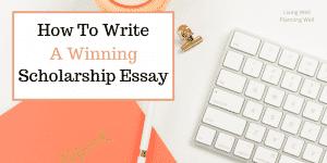 Winning Scholarship Essay 2 1