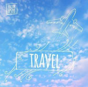 blurred summer travel creative background 545504