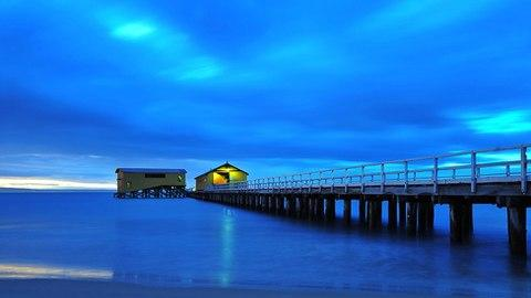 Cầu Cảng Point Lonsdale, Victoria.