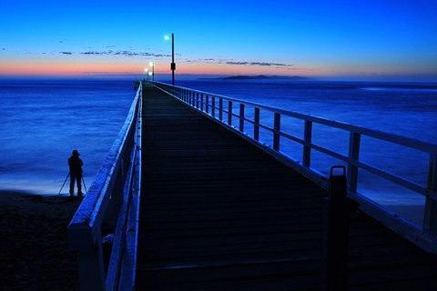 Cầu Cảng Queenscliff, Victoria.