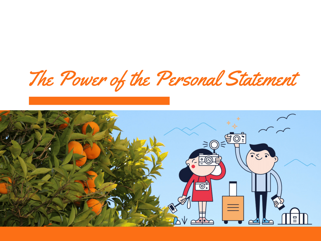 Personal statement writer xin học bổng