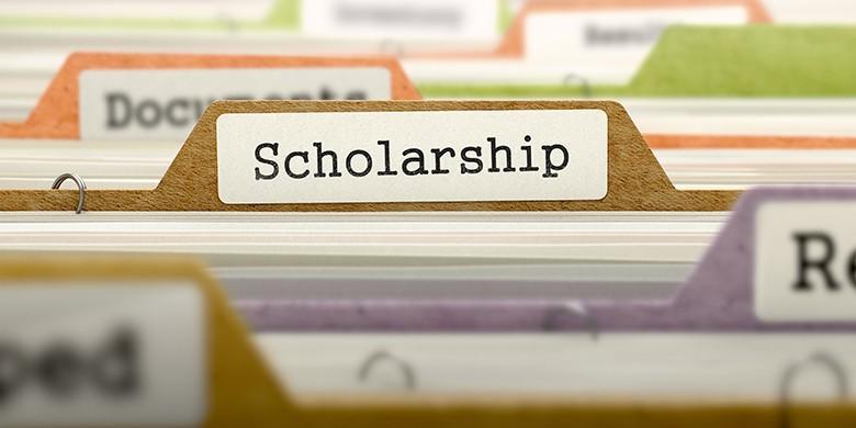 scholarship file folder